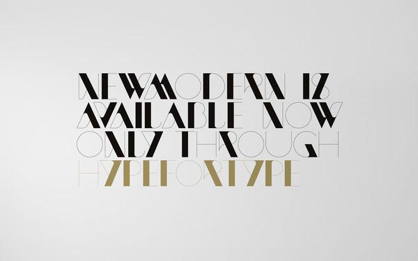 Modern Typeface Fonts