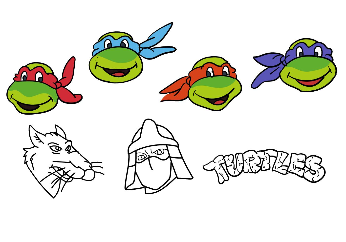 16 Ninja Turtle Vector Images Teenage Mutant Ninja