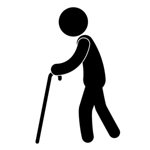 Old People Icon Clip Art