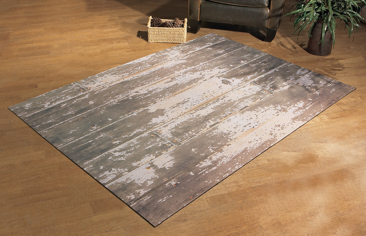 Photography Wood Floor Mat