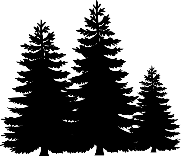16 Free Vector Pine Trees Images
