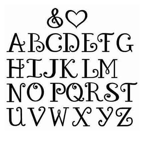 Nice Letter Fonts