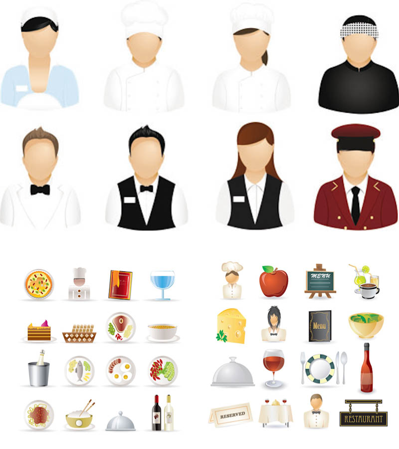 17 Vector Restaurant Icons Images