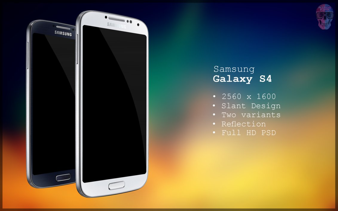 13 Samsung S4 PSD Images