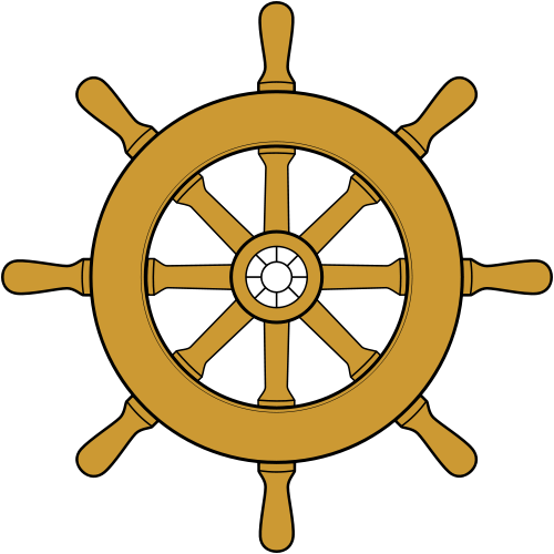6 Ship Wheel Icon Images