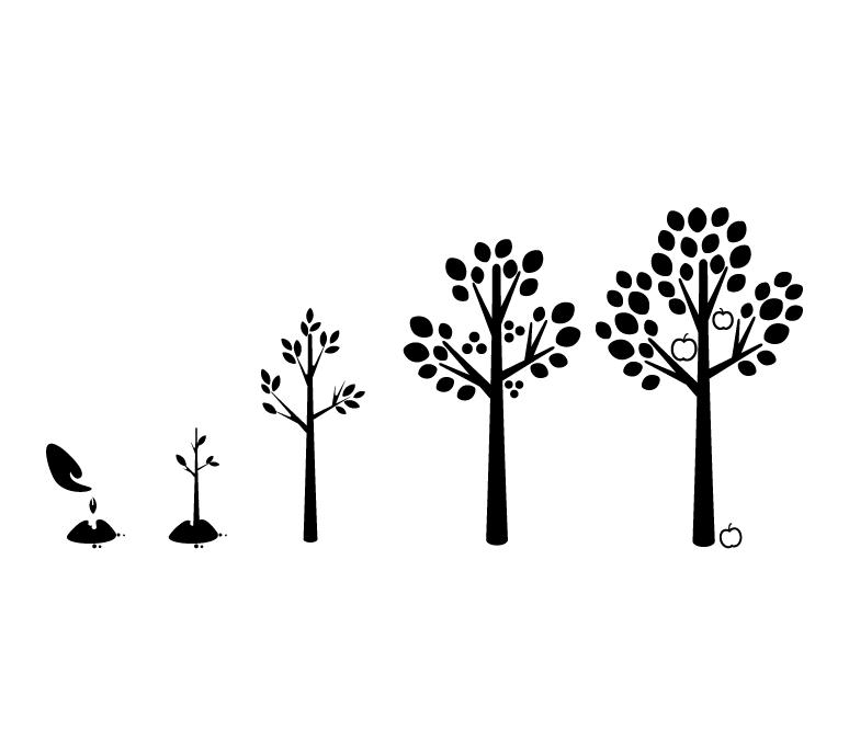 15 Tree Growth Graphic Images