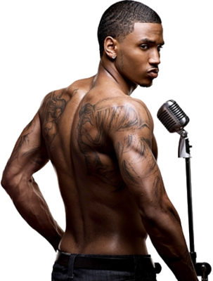9 Trey Songz PSD Images