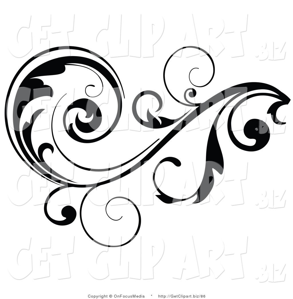 Vine Designs Clip Art