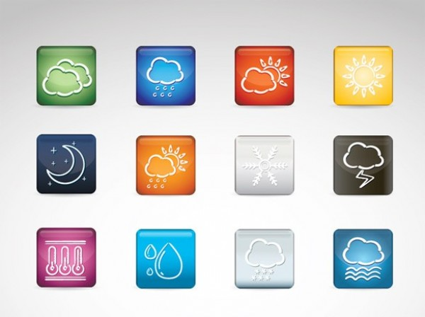 Weather Button Icon