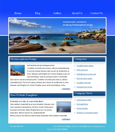 15 html web templates free download images html website With homepage template free download