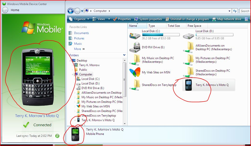Windows Mobile Device Center Windows 7