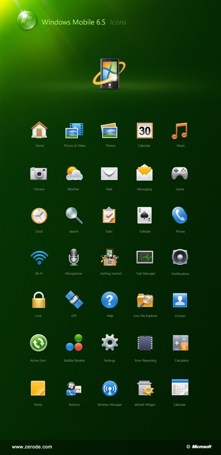 Windows Mobile Phone Icon