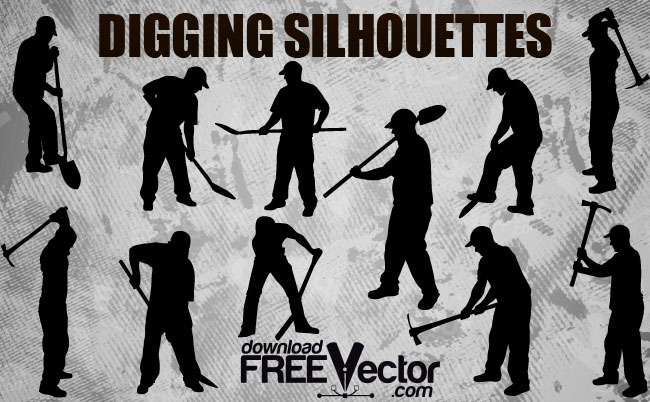 12 Free Digging Vector Images