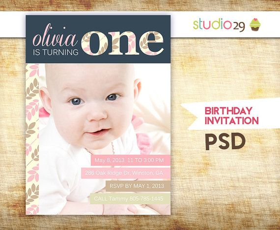 15 Birthday Invitation Psd Template Images 60th Birthday