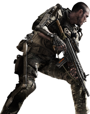 6 Soldier Transparent PSD Images