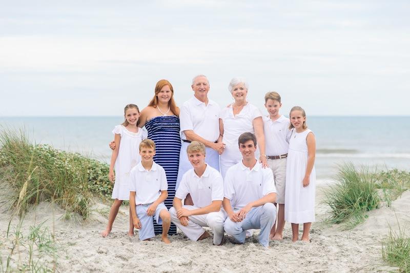 Beach Family Portrait Poses