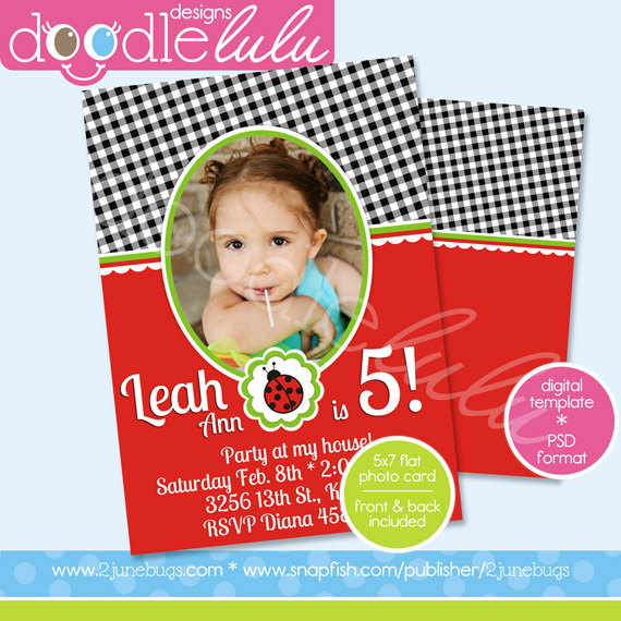 Birthday Card Invitation Templates