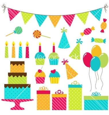 Birthday Party Vector Art