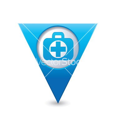 Blue Medical Icons Free