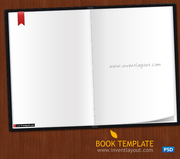 Book PSD Template