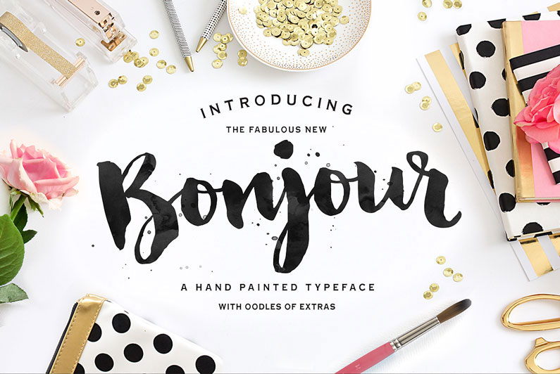 13 Brush Script Fonts Type Images