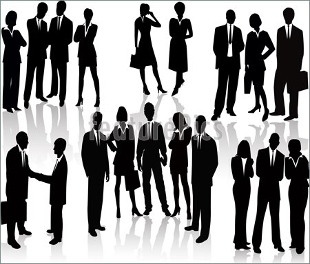 14 Gathering Of People Vector Images