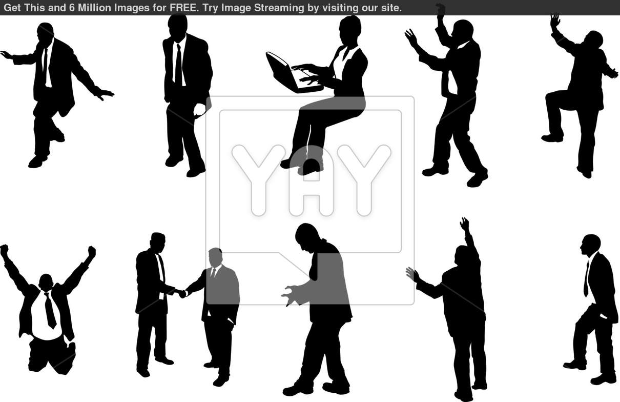 16 Vector Silhouette Person Reaching Out Images