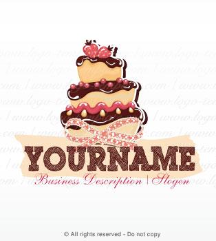 Cake Logo Templates