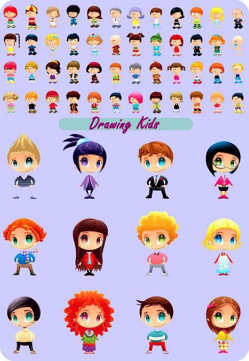 Cartoon Character Clip Art Free