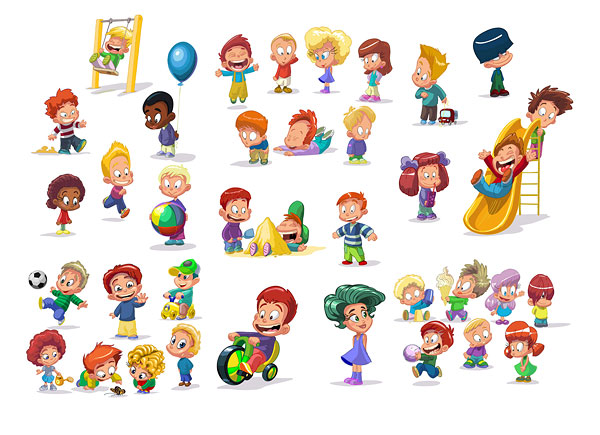 18 Vector Cartoon Free Clip Art Images