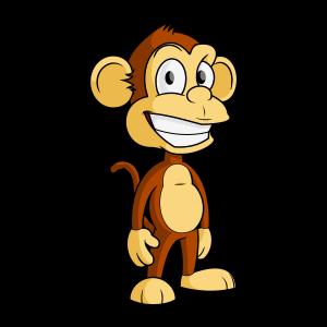 Cartoon Monkey Clip Art