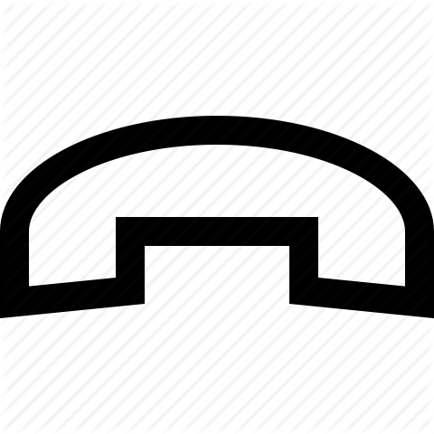 Cell Phone End Call Icon