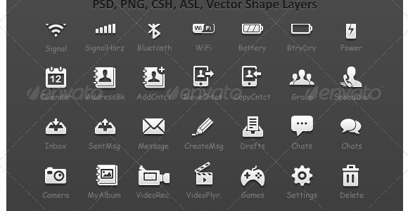 14 Cell Phone Icon Meanings Images Verizon Cell Phone Icon Symbol