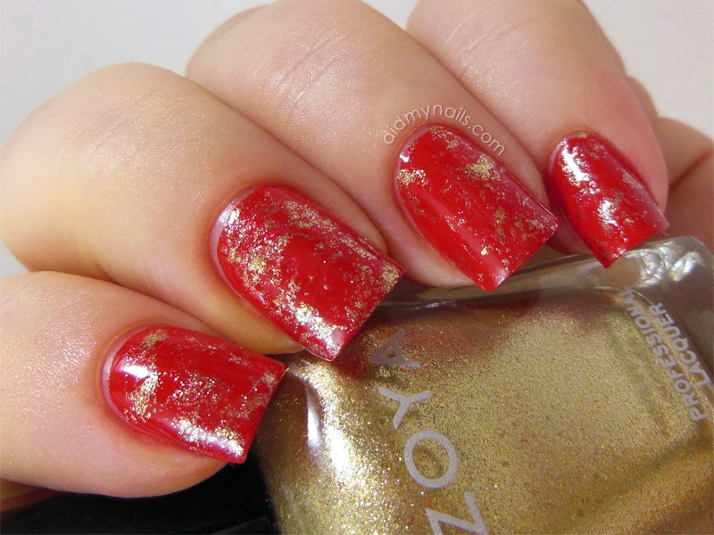 Chinese New Year Nail Design