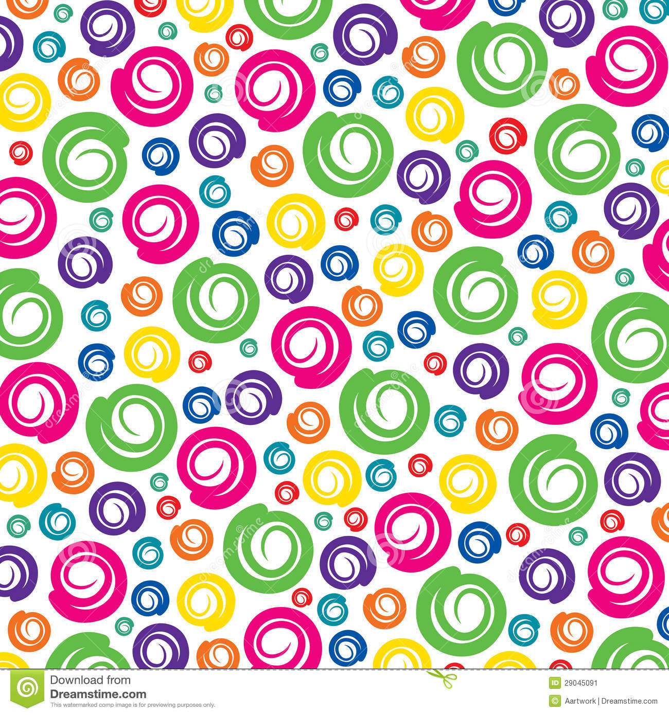 Colorful Swirl Pattern