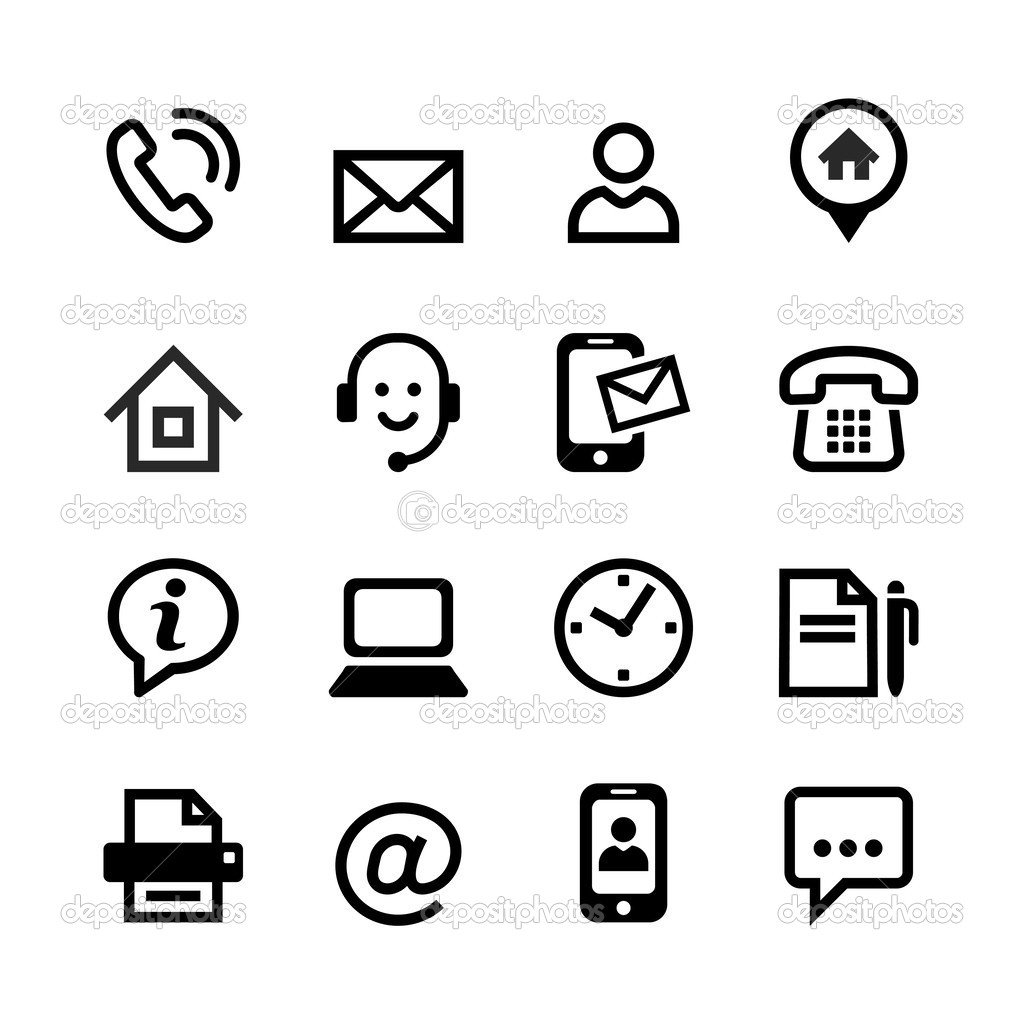 free vector contacts icon awesome graphic library