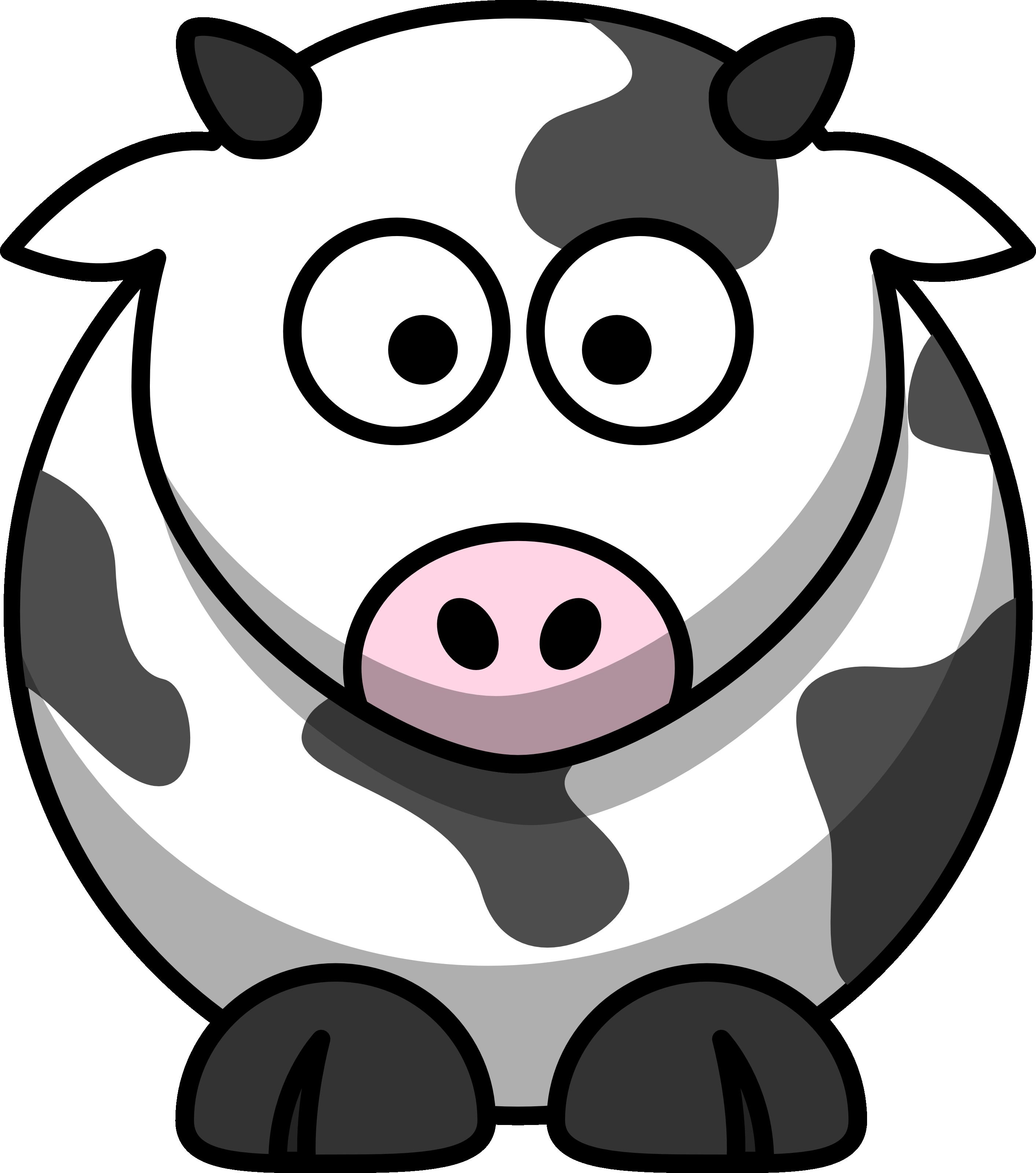 Cow Cartoon Clip Art Free