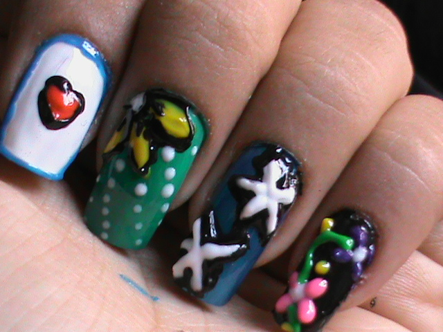 How To Do Nail Art Designs Videos To Bend Light