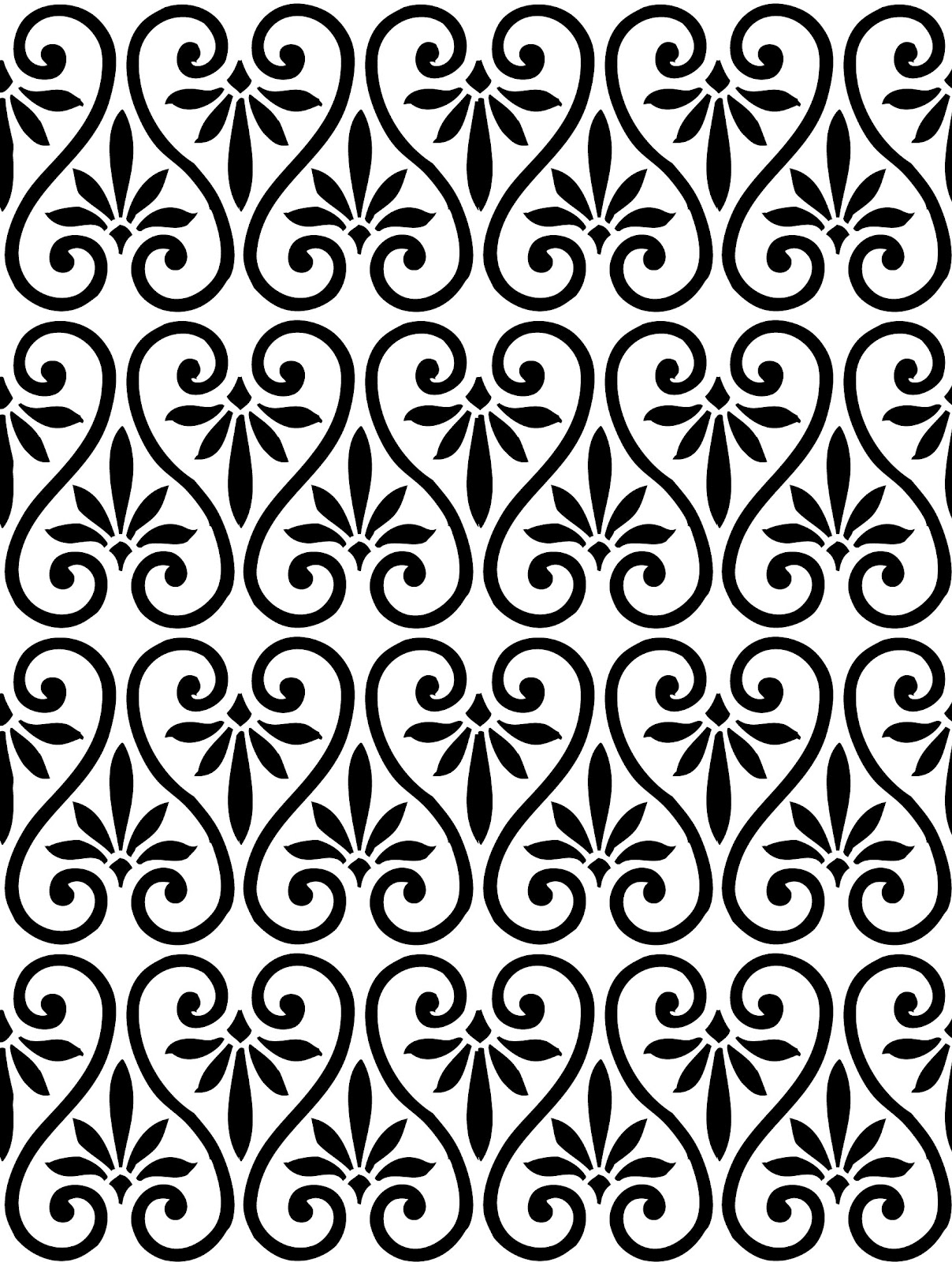 Easy Swirl Pattern Design