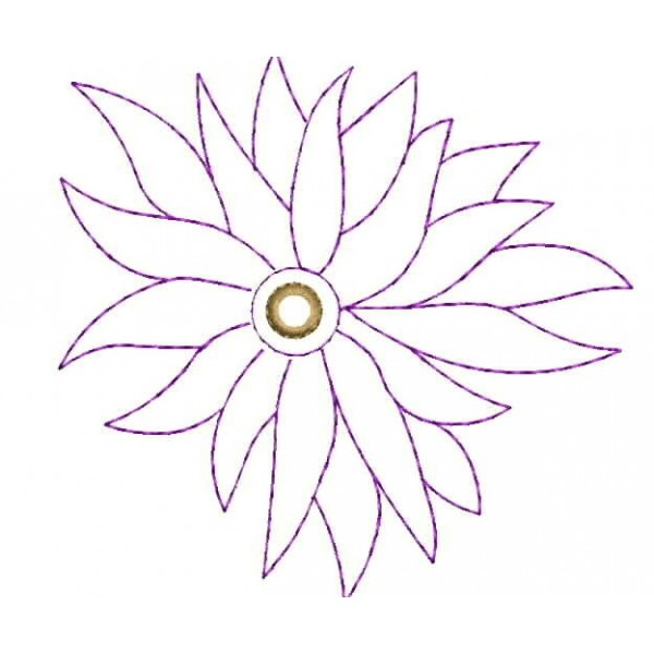 Embroidery Flower Designs Outlines