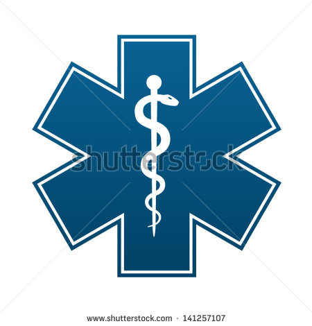 17 White Star Of Life Vector Images