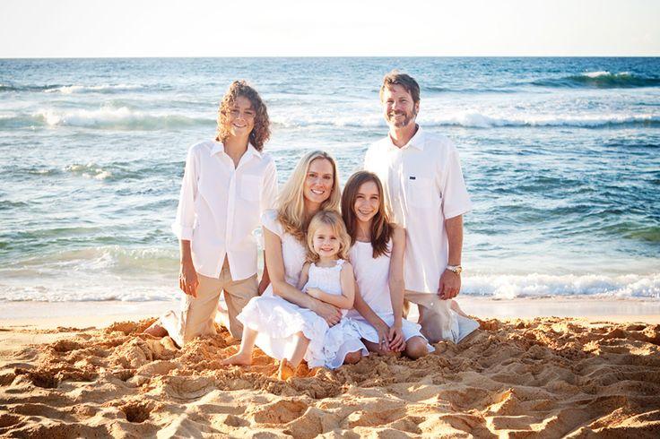 Family Portraits at Beach