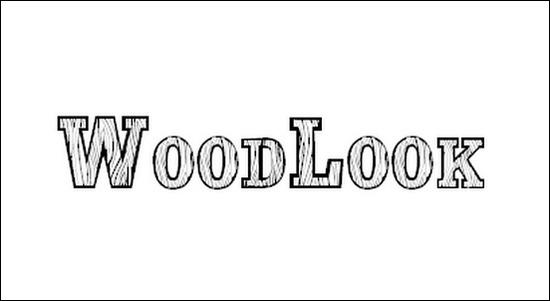 Font That Looks Like Wood Logs