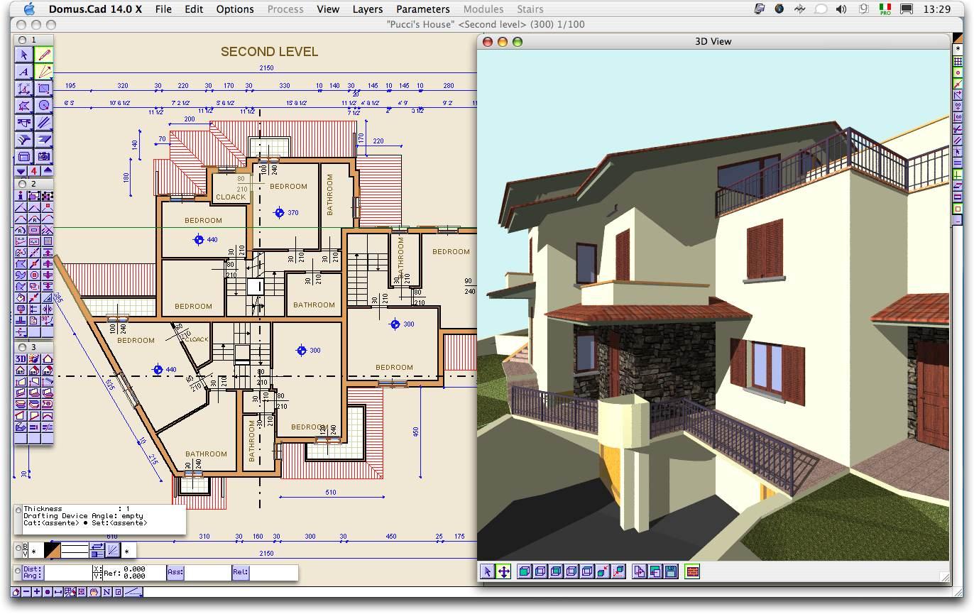 free cad software download house design