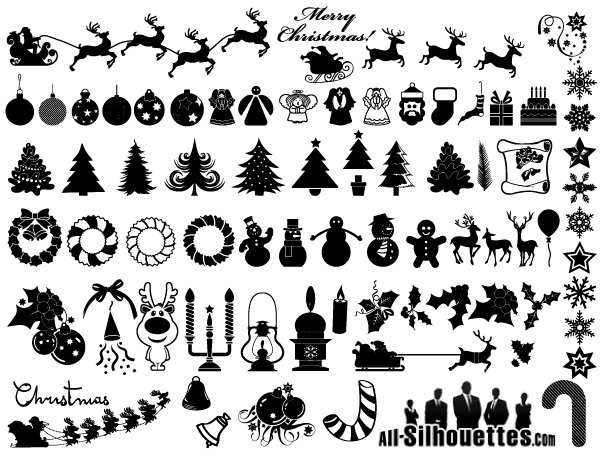 16 Free Christmas Vector Clip Art Images