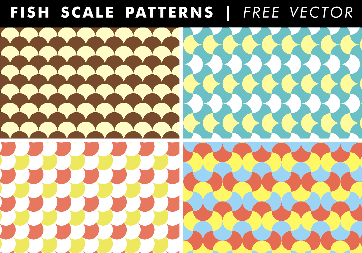 12 Fish Scale Pattern Vector Images - Fish Scale Pattern