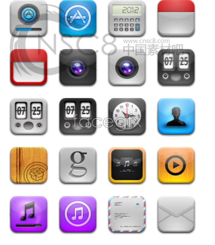 Free iPhone App Icons