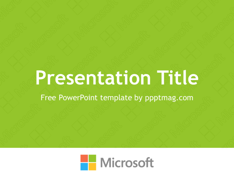 Free Microsoft PowerPoint Templates