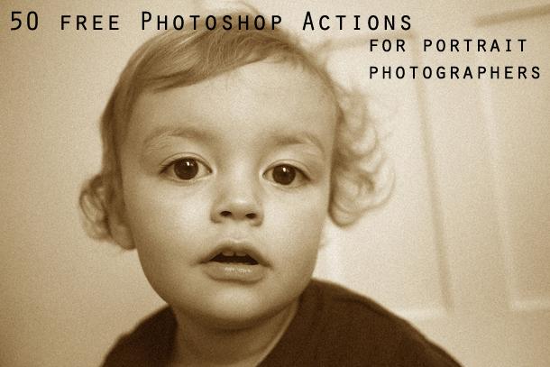 Free Photoshop Portrait Actions