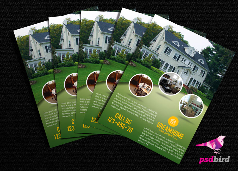 9 Home For Rent Flyer Free PSD Images